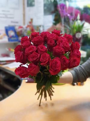 Роза Эквадор красная - 21 роза