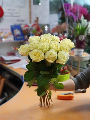 Роза Урал- Аваланш - 11 роз