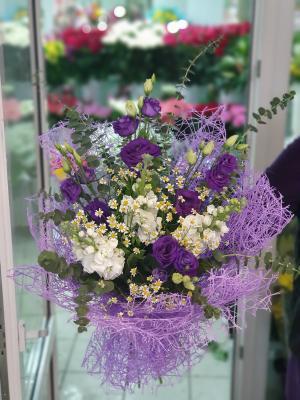 Цвет настроения фиолетовый